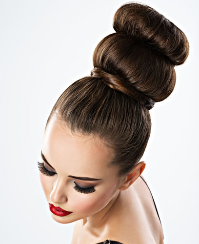 Hair for special occasions such as weddings