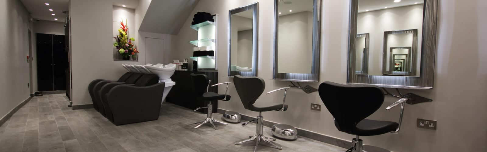Hair salon enfield interior
