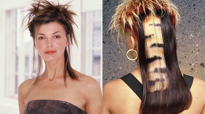 Hair styles from the 80s