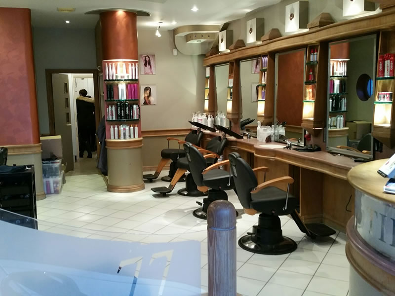 Our salon before the refit
