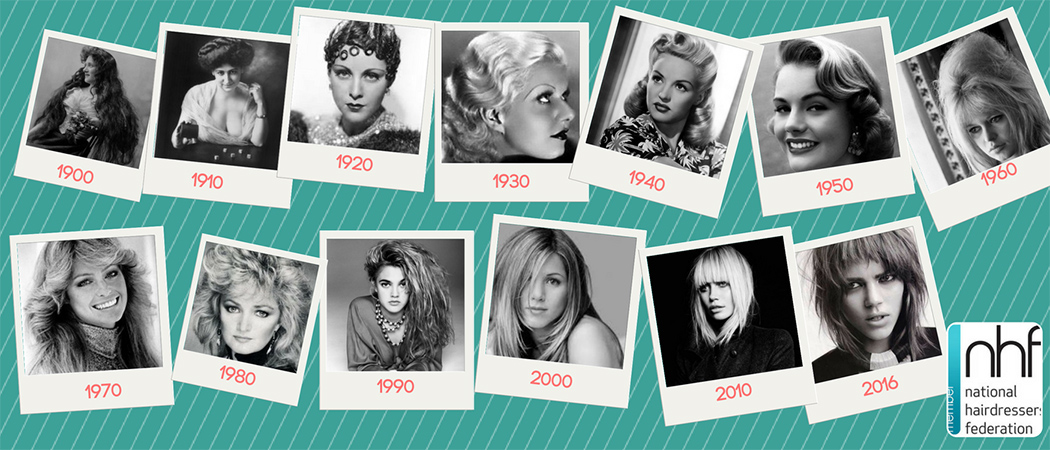 Hair trends in the last century