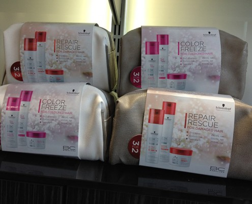 Colour freeze repair and rescue gift packs