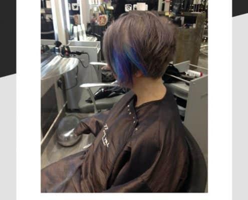 Hair cut by Angela