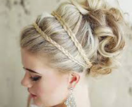 Wedding hair in Enfield