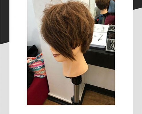 Asymmetric haircut by Mel