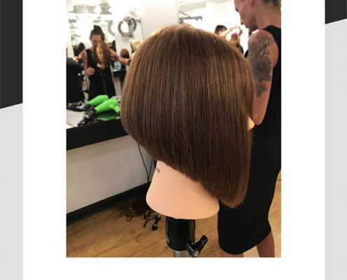 Precision bob haircut by Mel