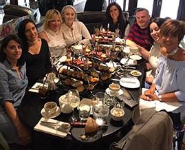 Happy birthday celebrations with the team