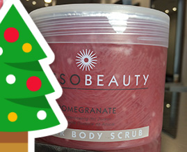Featured body scrub