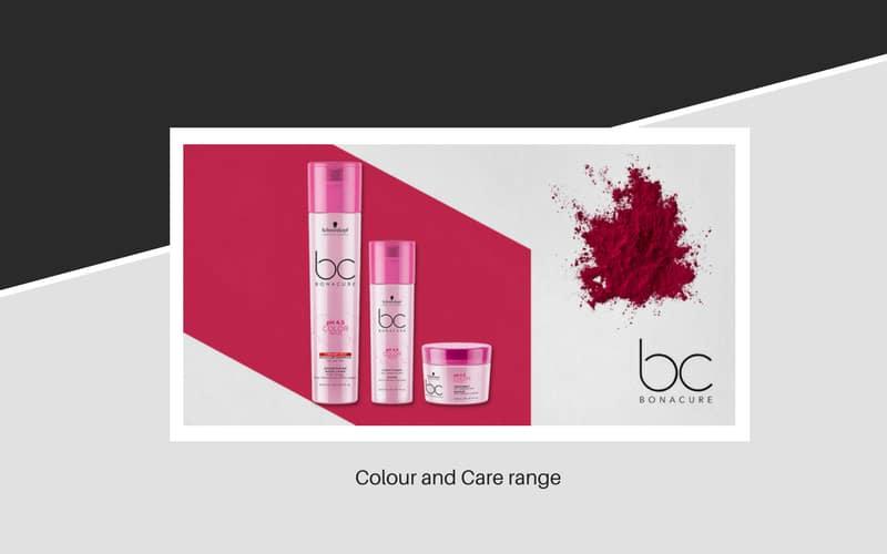 Bonacure Hair Colour Care range
