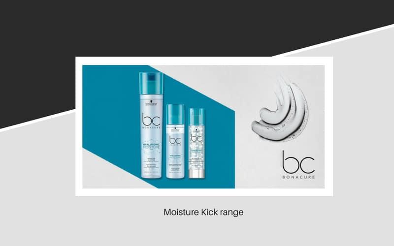 Bonacure Hair Moisture Kick range