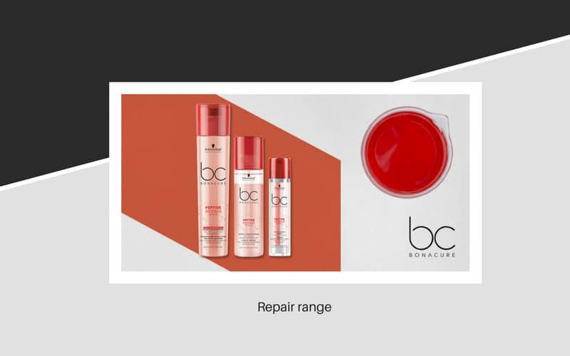 Bonacure hair repair range