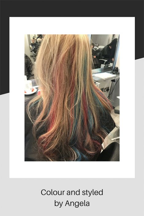 Colour and styled by Angela