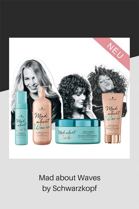Mad about Waves range of hair products
