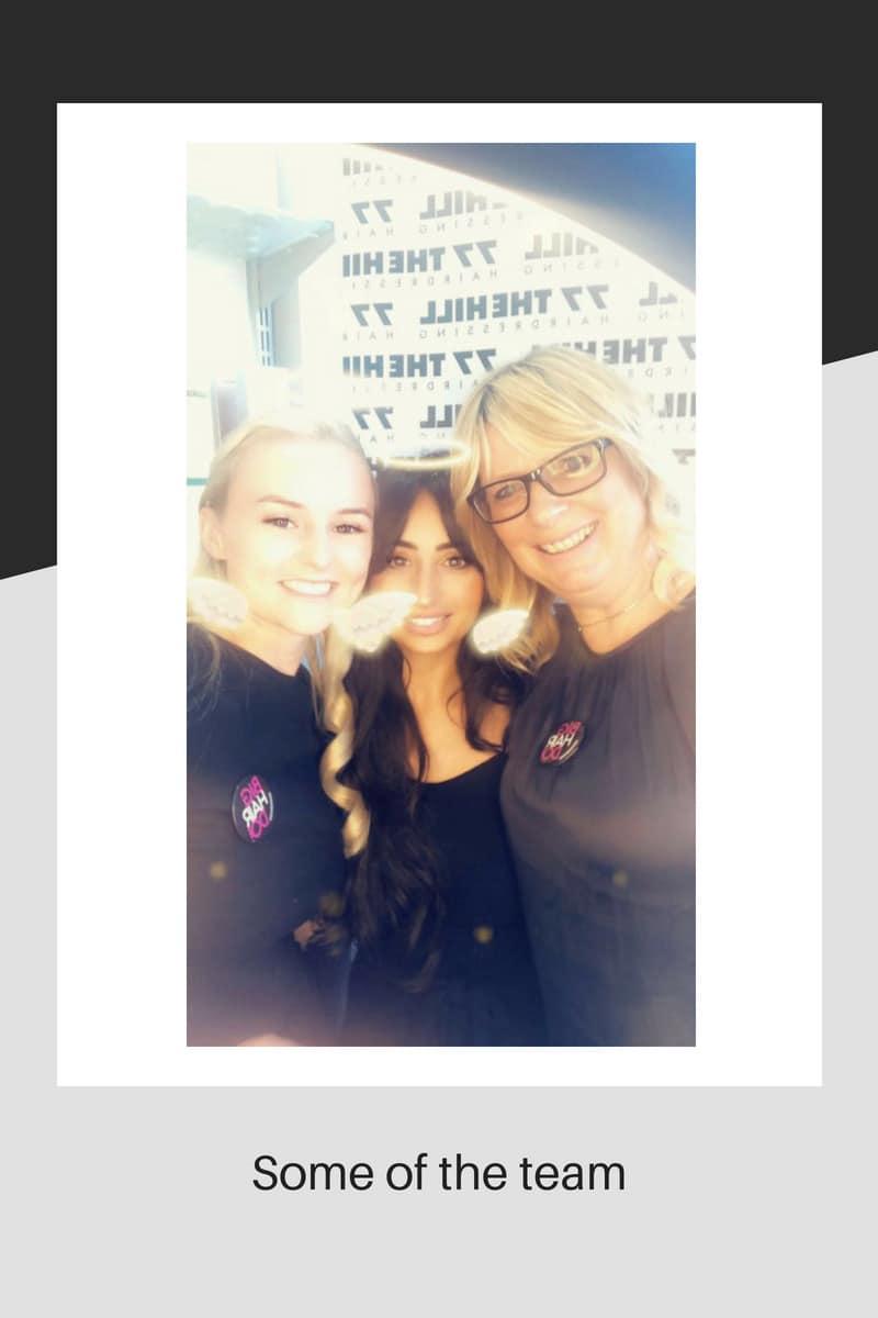 Lovely hairdressers together