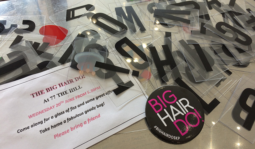 Our Big Hair Do event