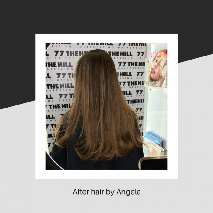 Hair style by Angela