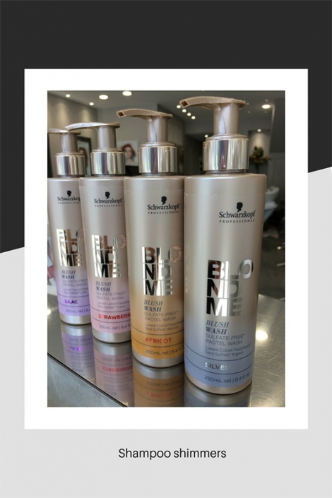 Our shampoo shimmers