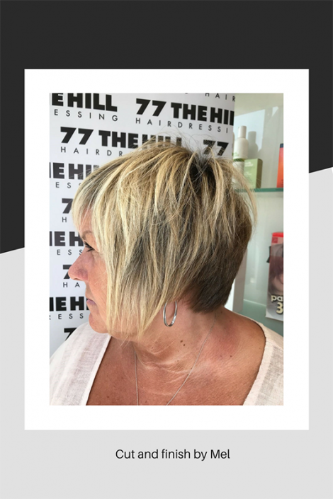 Cut and finish by Mel