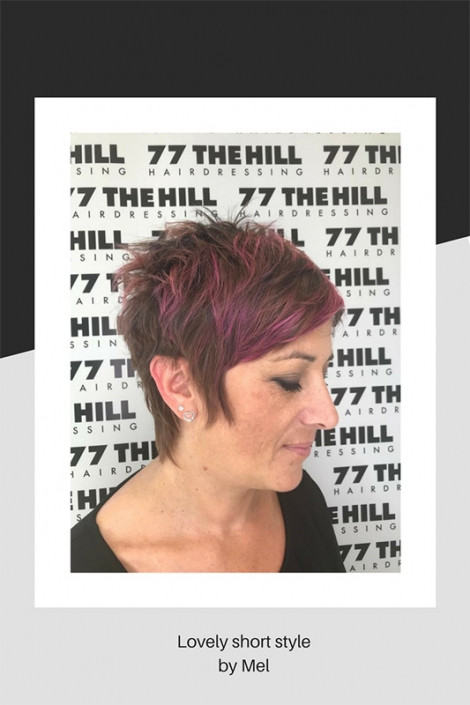 Short hairstyle by Mel
