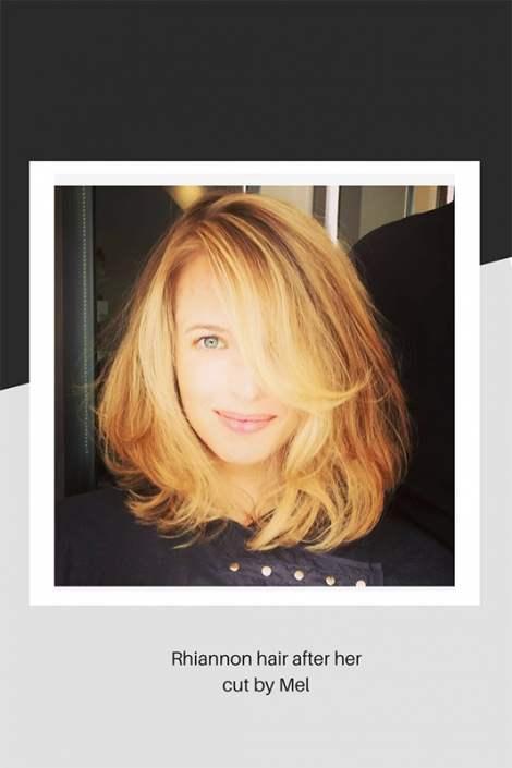 Beautiful haircut by Mel