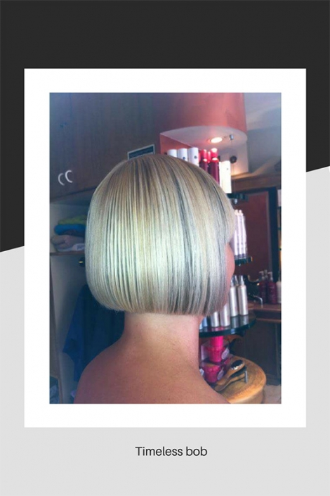 Timeless bob hair