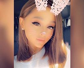 Ariana's new short bob