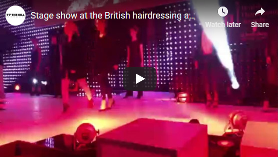 Hairdressing awards video