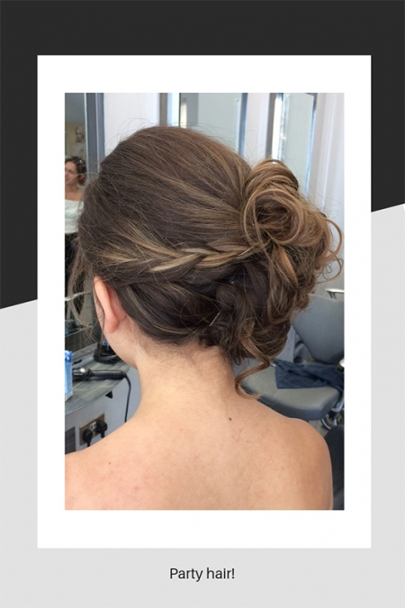 Party hairstyle!