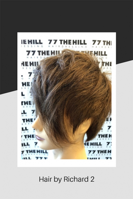 Short hairstyle by Richard