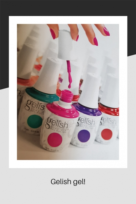 Gelish nail gel