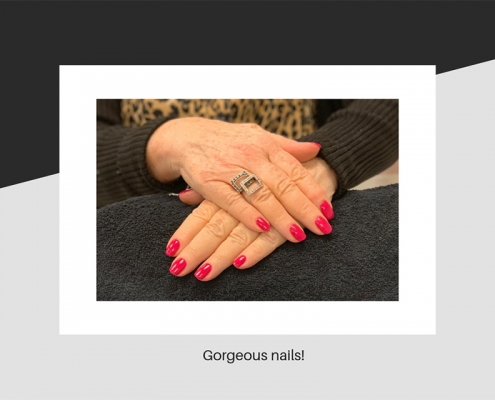 Gorgeous gelish nails