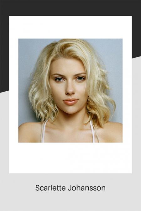Scarlette Johansson blonde hair