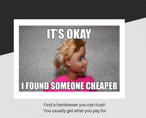 Find a hairdresser you can trust