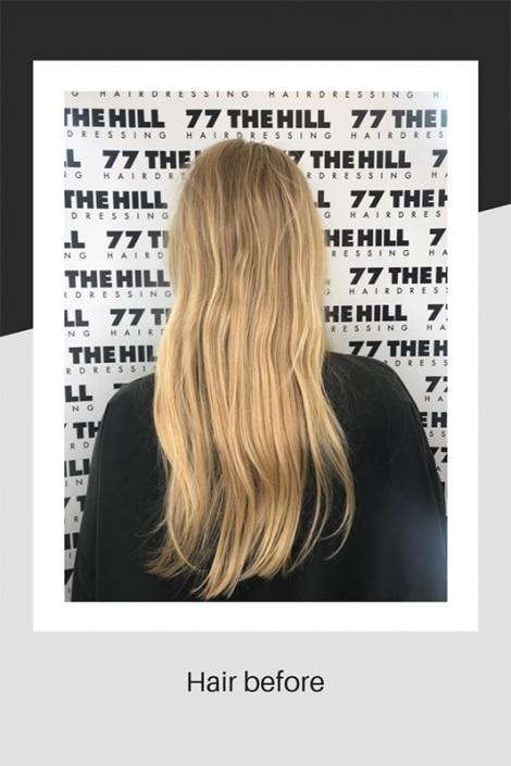 Hair before by Angela and Natalina