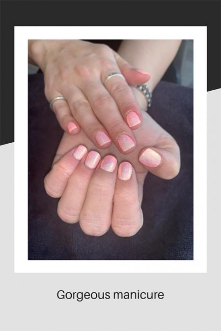 Gorgeous gelish manicure