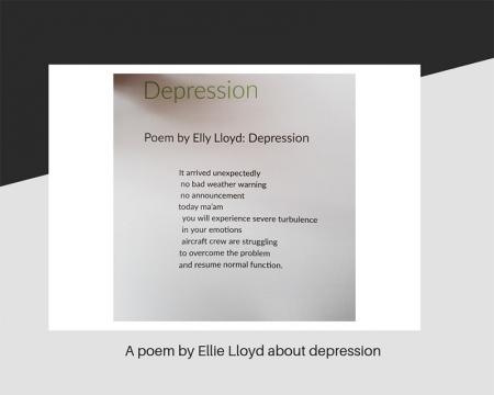 A poem by Ellie Lloyd about depression