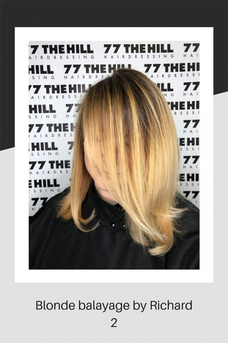 Blond Balayage by Richard again