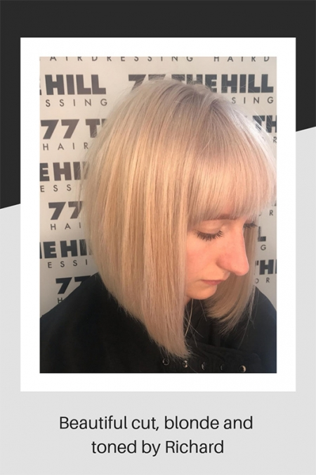 Cut and toned hair by Richard