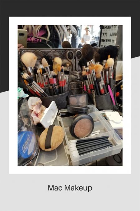 Selection of Mac make-up