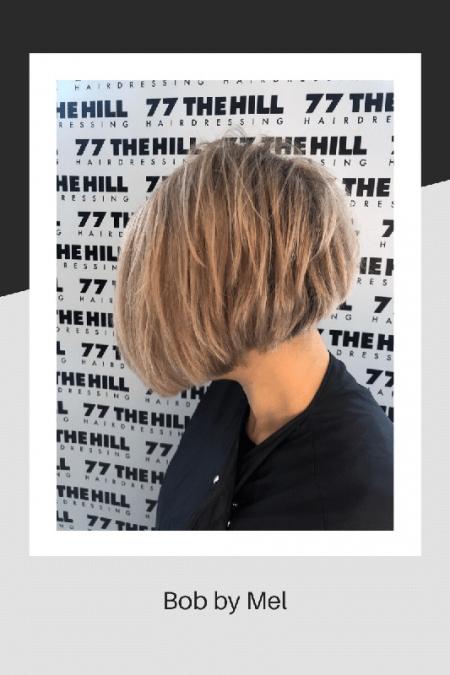 Bob hair style by Mel