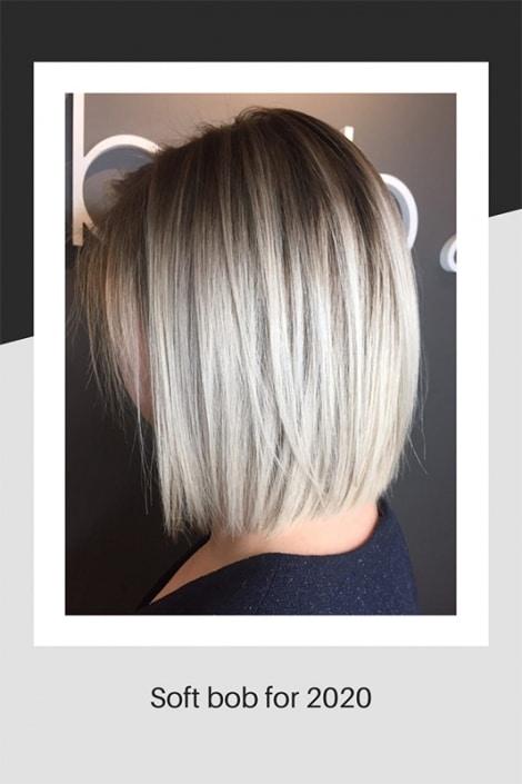 Soft bob hair style for 2020