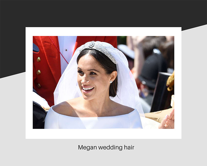 Meghan wedding hair