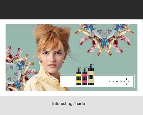 Interesting hair colouring shades