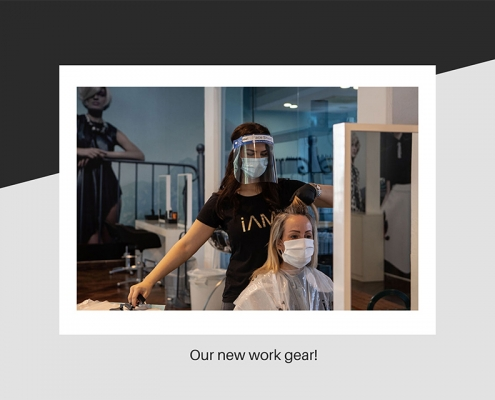 Hair salon new equipment