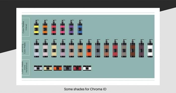Hair shades of Chroma ID