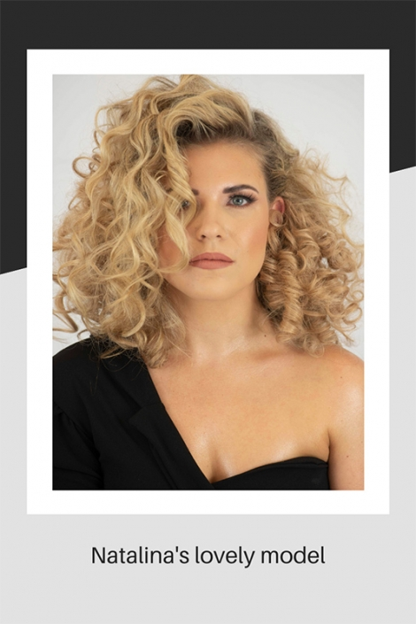 Natalina's hair model
