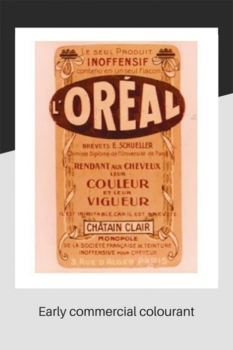 Early commercial colourant