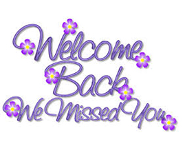 Welcome back to our salon