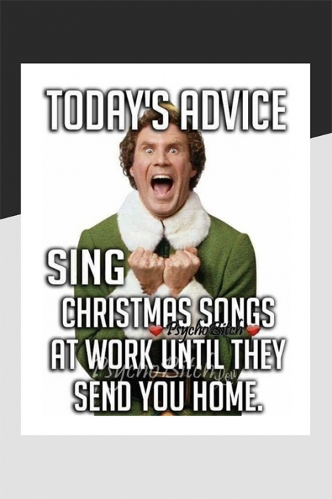 Sing Christmas songs