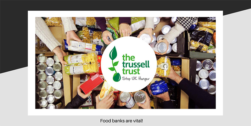 The need of Food Banks in the UK